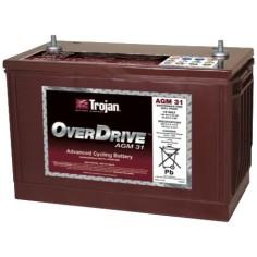 Batería Trojan Over Drive...