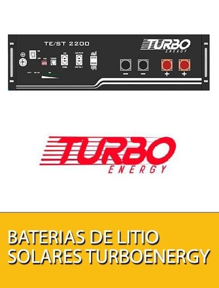 Baterías de litio solares Turbo Energy