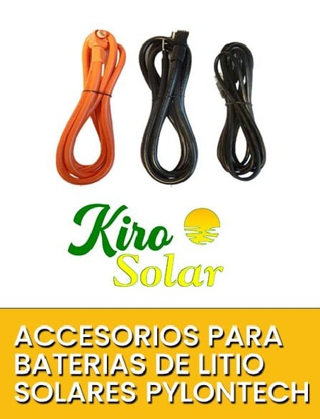 Accesorios para Baterias Solares de Litio Kiro Solar