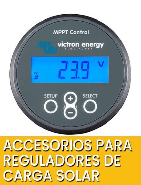 Accesorios para Reguladores y MPPT