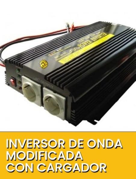 Inversor de Onda modificada con cargador
