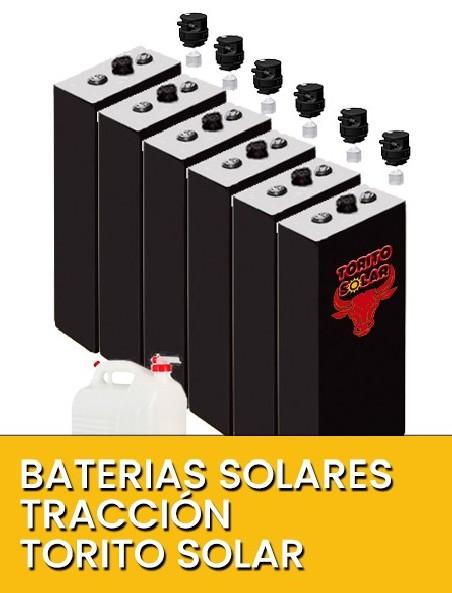 Baterías solares tracción Torito solar 2V