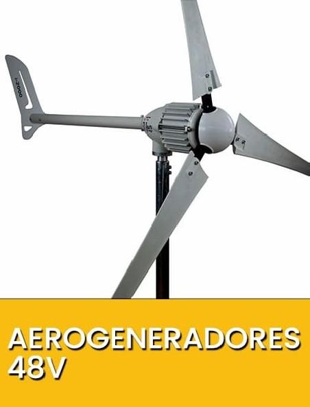 Aerogeneradores 48V