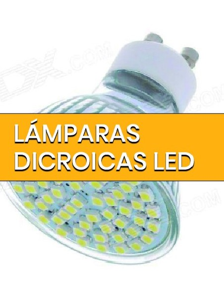 Lámparas Dicroicas LED