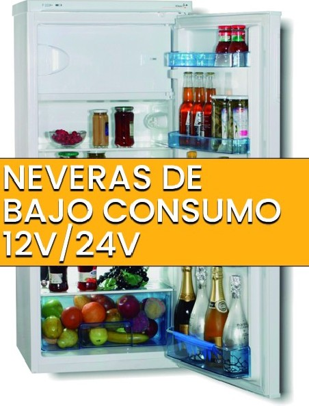 Neveras de bajo consumo 12V/24V