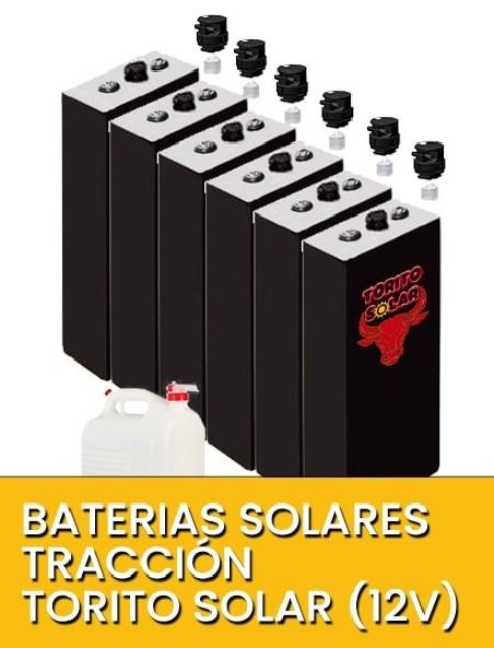 Baterías solares tracción HDI OPZS 12V
