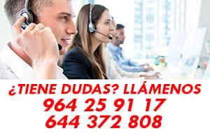 Contacte con nuestro Departamento de Atención Comercial