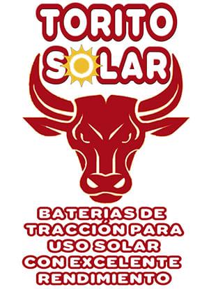 baterías tracción torito solar